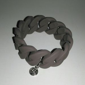 Marc by Marc Jacobs rubber chain link bracelet